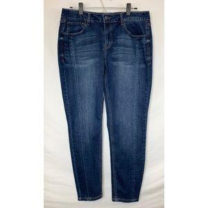 NWOT KENSIE Skinny Ankle Length Dark Wash Jeans!